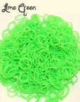 Lime green Loom Rubber Bands 600PCS