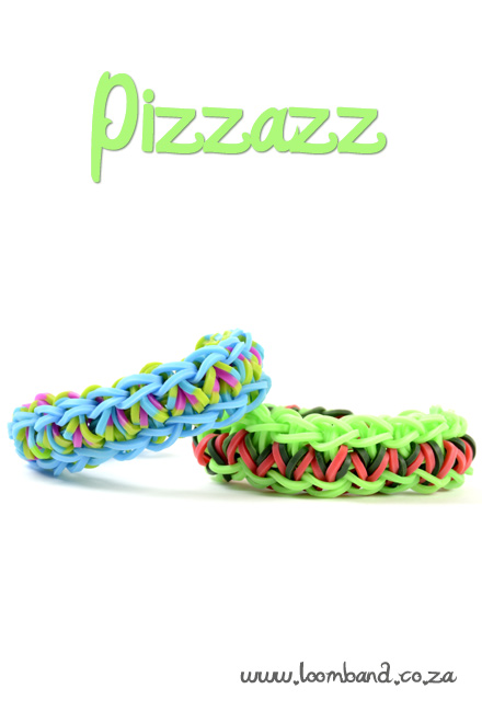 Pizzazz bracelet loom band