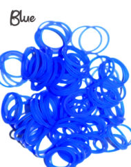 Blue Loom Silicone Bands
