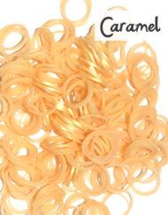 Caramel Loom Silicone Bands