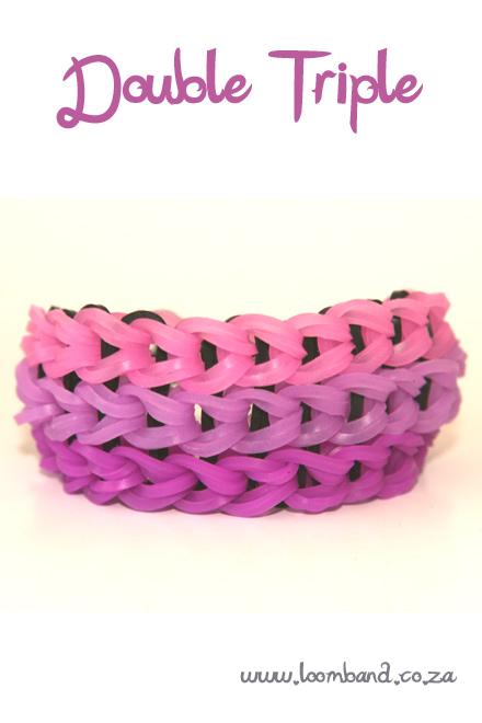 double triple bracelet