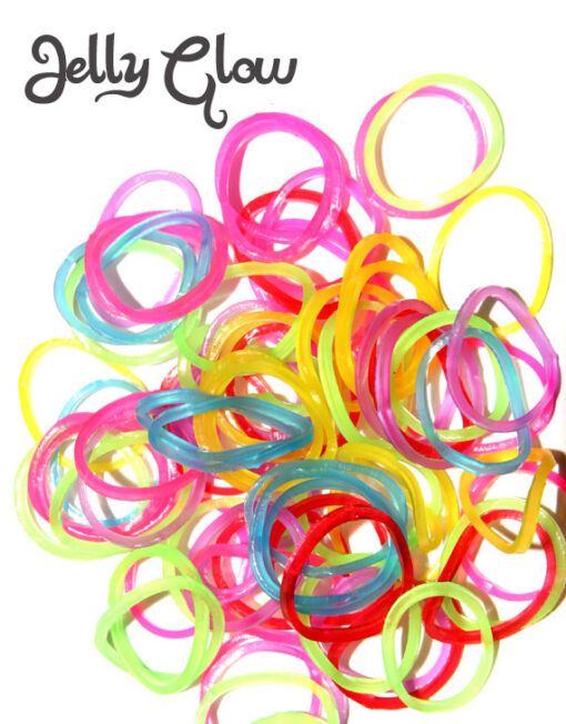 jelly glow loom bands