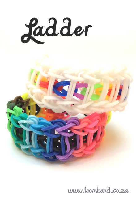 ladder loom band tutorial