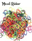 Mixed Colour Loom Rubber Bands Refill 600