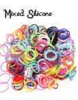 Mixed Colour Loom Silicone Bands