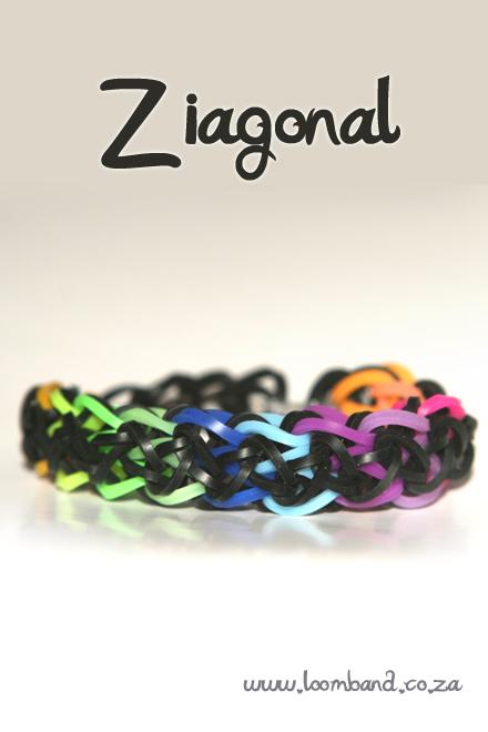 Ziagonal bracelet