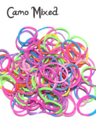 camo loom bands rubber