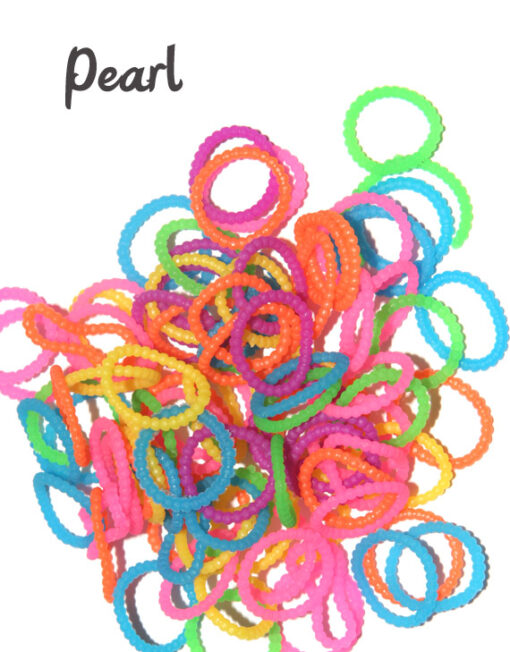 pearl loom bands rubber