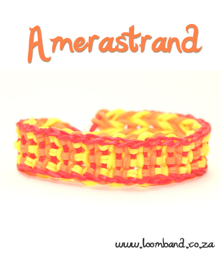 Amerastrand Loom Band Bracelet Tutorial