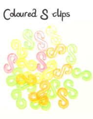 Colourful S-Clips 24pcs