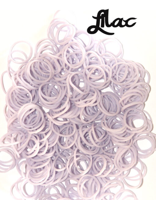 Lilac Loom Rubber Bands