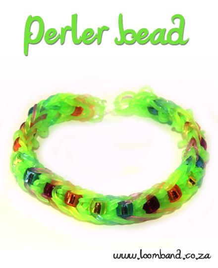 Perler Bead Loom Band bracelet Tutorial