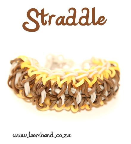 Straddle Loom Band Bracelet Tutorial