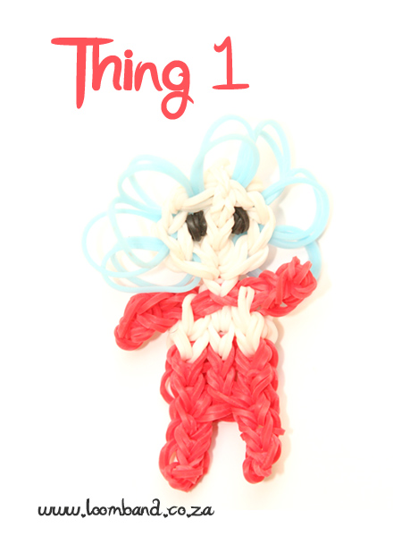 Thing 1 Loom Band Tutorial