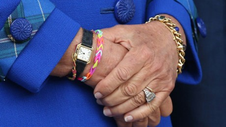 Camilla's Loom Band bracelet