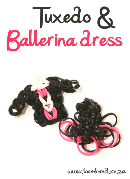 tuxedo and balerina dres