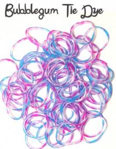 Bubblegum Tie Dye Loombands