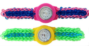 Colourful Loomband watches