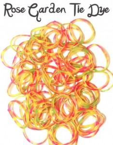 Rose Garden Tie Dye Loombands