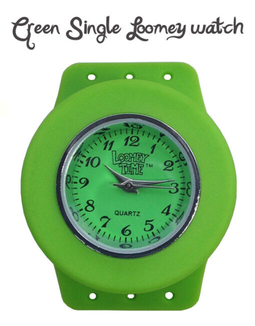 Loomey Time Single Watch Green