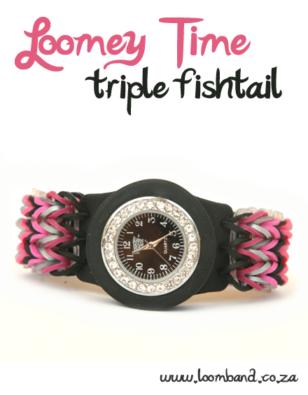 Loomey Time Triple Fishtail Tutorial