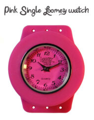 Loomey Time Single Watch pink