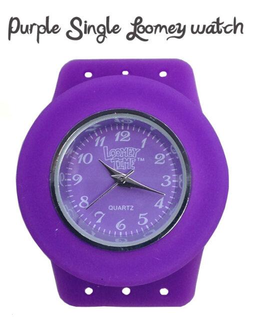 Loomey Time Single Watch Purple