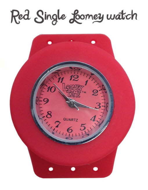 red loomey time watch