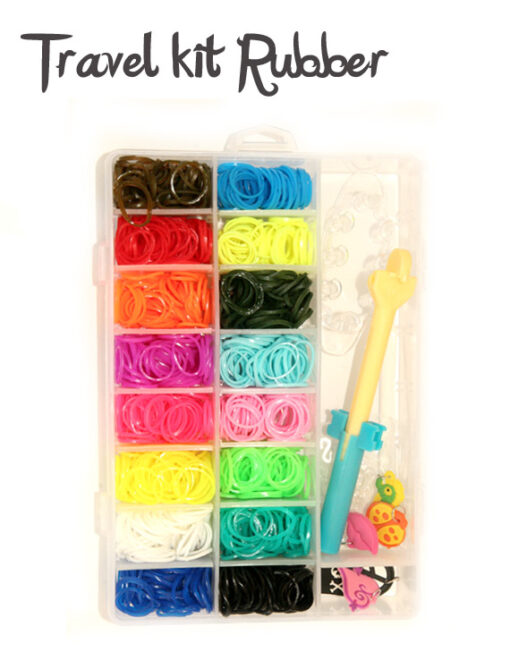 Travel loom set rubber
