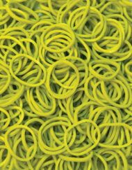 Olive Rainbowloom rubber bands - Loomband