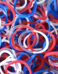 Partriot Rainbowloom rubber bands