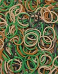 Camouflage Rainbowloom rubber bands - Loomband