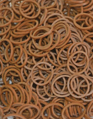 Caramel Rainbowloom rubber bands - Loomband