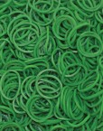 Dark Green Rainbow loom rubber bands