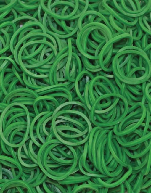 Dark Green Rainbow loom rubber bands