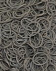 Grey Rainbowloom rubber bands - Loomband