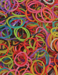 Mix-colors Rainbowloom rubber bands - Loomband