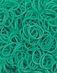Teal Rainbowloom rubber bands - Loomband