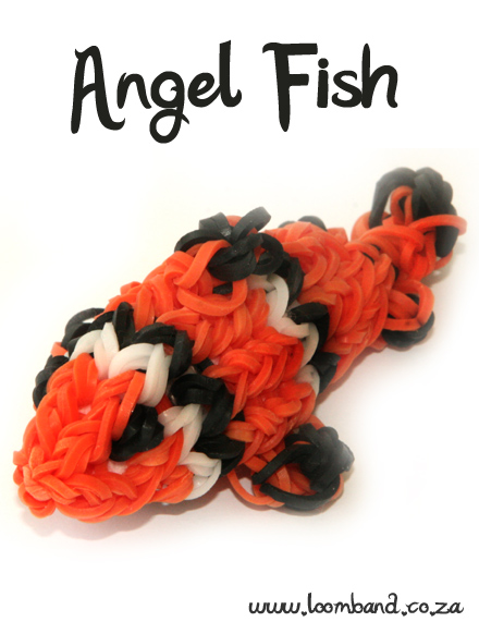 Clown Fish Loom Band Tutorial