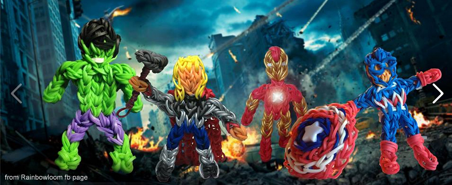 avengers loom band
