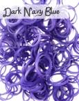Dark Navy Loom Silicone Bands