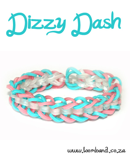 Dizzy Dash loom band bracelet tutorial