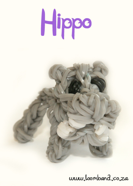 Hippo Loom band tutorial
