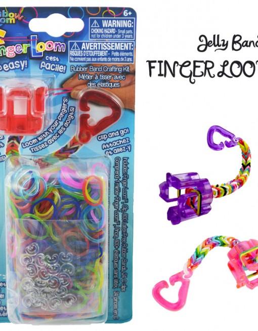 Jelly Finger Loom kit - Loomband