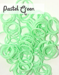 Baby Green Loom Silicone Bands