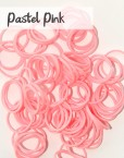 Pastel Pink Loom silicone Bands
