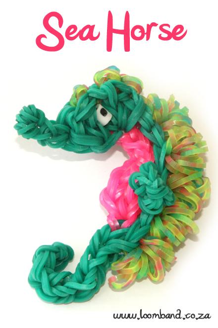 Seahorse Loom Band Tutorial