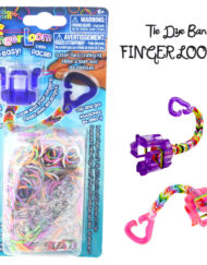 Tie-dye Finger Loom kit - Loomband