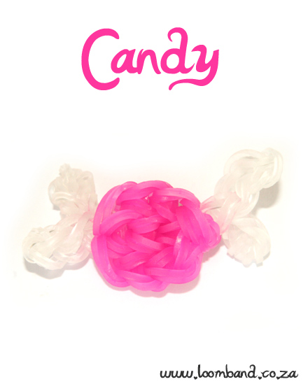 Candy Charm Loom Band tutorial - Lomband SA
