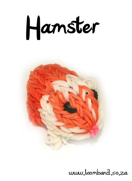 Guinea Pig / Hamster Loom Band Charm tutorial - LoombandSA